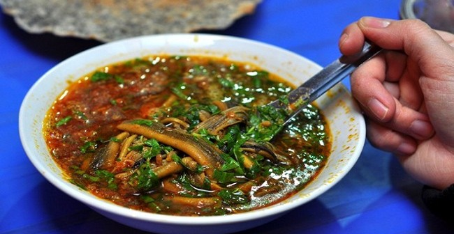Cháo lươn, món ăn không thể bỏ qua khi tới Nghệ An