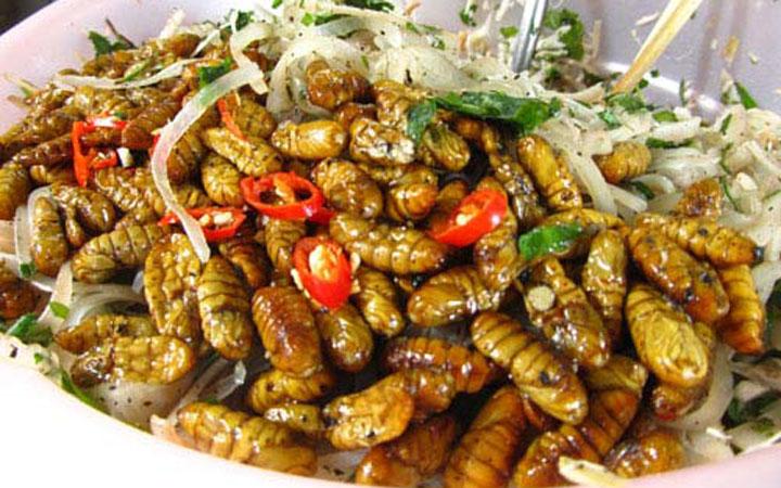Món nhộng trộn đặc sản Quảng Nam